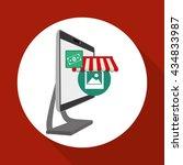shopping design. marketing icon.... | Shutterstock .eps vector #434833987