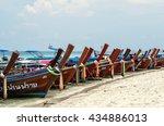 trang  thailand   13 may   long ... | Shutterstock . vector #434886013