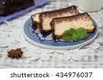 Постер, плакат: cottage cheese casserole with