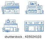 set of different shop and...