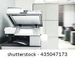 photocopy machine.   Shutterstock . vector #435047173