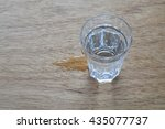 glass of water  drinking water | Shutterstock . vector #435077737