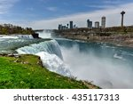 niagara falls  new york   may 7 ...   Shutterstock . vector #435117313