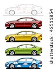 hardtop. part of my collections ... | Shutterstock .eps vector #43511854