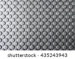 the round pattern texture on... | Shutterstock . vector #435243943