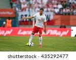 krakow  poland   june 06  2015  ...   Shutterstock . vector #435292477