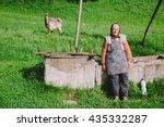 alba  romania   april 21  2015  ... | Shutterstock . vector #435332287