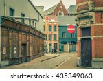 antwerp  belgium   april 5 ... | Shutterstock . vector #435349063