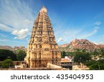 virupaksha hindu temple and... | Shutterstock . vector #435404953