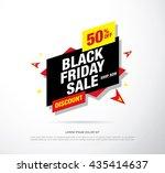 black friday sale banner. web... | Shutterstock .eps vector #435414637