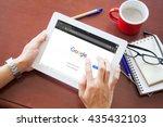 bangkok  thailand   june 11... | Shutterstock . vector #435432103