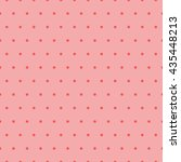 seamless polka dots pattern | Shutterstock .eps vector #435448213