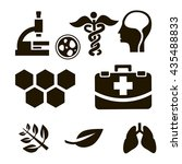 biology icon. biology sign   Shutterstock .eps vector #435488833