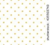 seamless polka dots pattern | Shutterstock .eps vector #435503743
