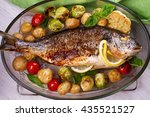 Roasted Dorado Fish With...