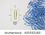 business minimal concept as a ... | Shutterstock . vector #435532183