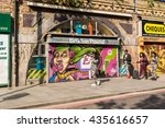 brixton  london  uk   15 may... | Shutterstock . vector #435616657