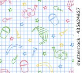 Seamless Pattern Back To Schoo...
