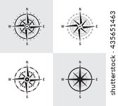 vector set of variations of the ... | Shutterstock .eps vector #435651463