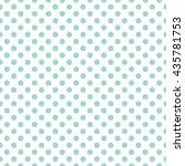 seamless polka dots pattern... | Shutterstock .eps vector #435781753