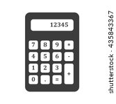 calculator with numbers icon....