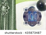 different close up euro bank... | Shutterstock . vector #435873487