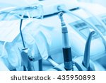 dental professional tools and... | Shutterstock . vector #435950893
