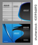 template design trifold... | Shutterstock .eps vector #435956893