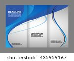 brochure design template  | Shutterstock .eps vector #435959167