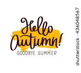 Caption Hello Autumn  Goodbye ...
