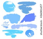 abstract background with a set... | Shutterstock .eps vector #436081657
