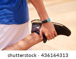 young people doing sport... | Shutterstock . vector #436164313