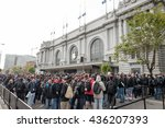 san francisco   jun 13th  2016  ... | Shutterstock . vector #436207393