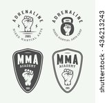 Set Of Vintage Mixed Martial...