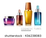 cosmetic tubes packaging | Shutterstock .eps vector #436238083