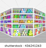 concept illustration for shop... | Shutterstock .eps vector #436241263