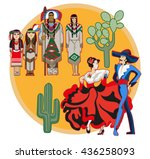 vector image of ancient and... | Shutterstock .eps vector #436258093