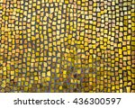 mosaic tile background. mosaic... | Shutterstock . vector #436300597