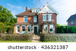 english cottage house    Shutterstock . vector #436321387
