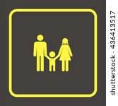 family icon. | Shutterstock . vector #436413517
