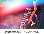 guitar at the concert | Shutterstock . vector #436444933
