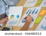 group of business people busy...   Shutterstock . vector #436480513