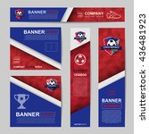 abstract flag colour banner for ...