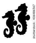 seahorse   Shutterstock .eps vector #436486567