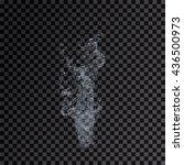 water splash transparent... | Shutterstock . vector #436500973