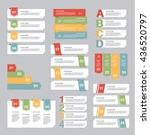 infographic design  options... | Shutterstock .eps vector #436520797
