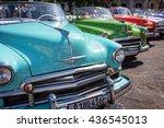 havana  cuba   april 18 ... | Shutterstock . vector #436545013
