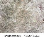 crack concrete floor texture... | Shutterstock . vector #436546663