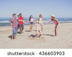 group of multiracial friends...   Shutterstock . vector #436603903