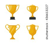 gold cup trophy  award golden...